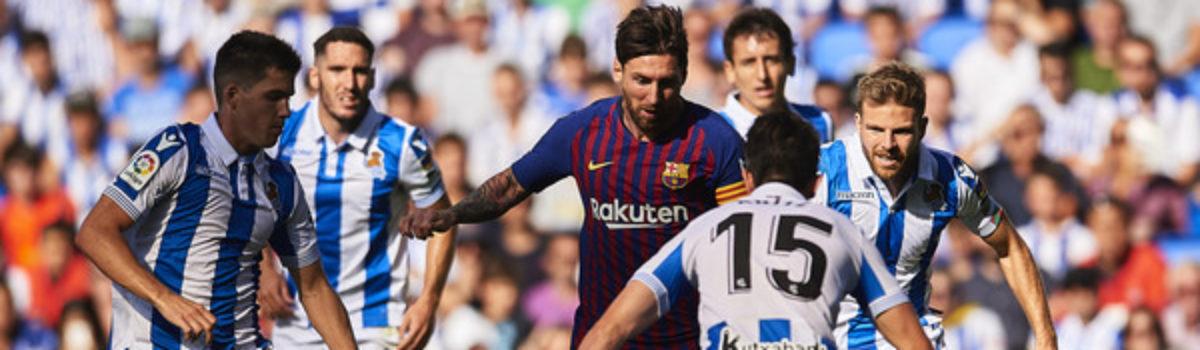 La Liga: Real Sociedad-FC Barcelona już od 1197 zł! (przelot+bilet na mecz+trzy noclegi)