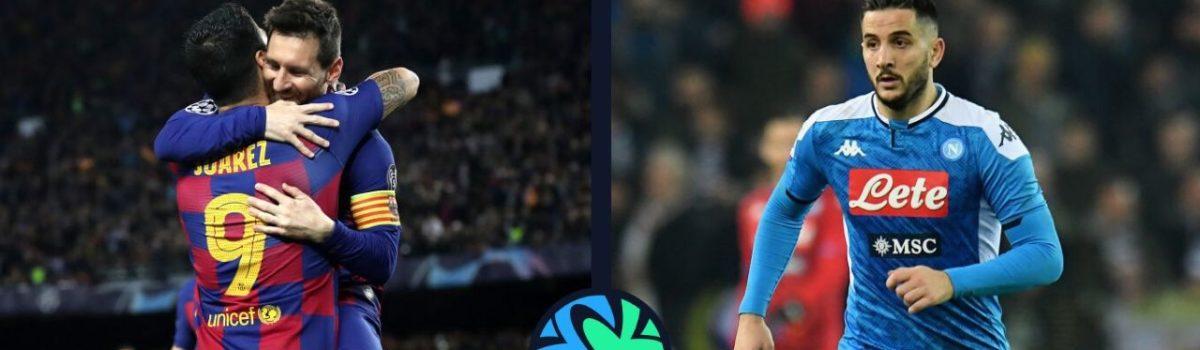 Champions League: SSC Napoli-FC Barcelona już od 923 zł! (przelot+bilet na mecz+nocleg)