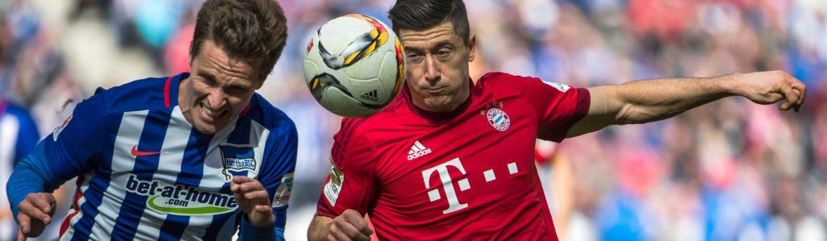 Bundesliga: Hertha BSC-Bayern Monachium już od 279 zł! (transport+bilet na mecz/nocleg opcjonalny)