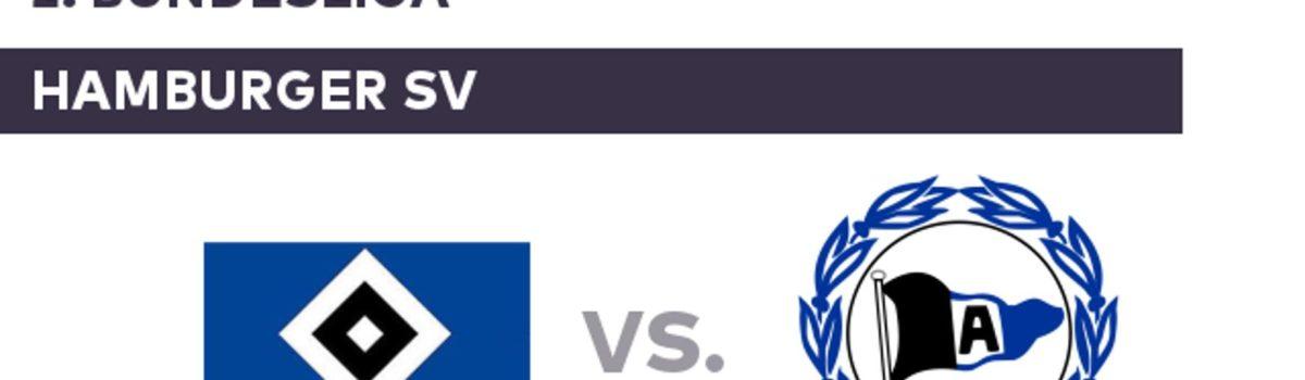 2.Bundesliga: Hamburger SV-Arminia Bielefield już od 586 zł! (przelot+bilet na mecz+nocleg)